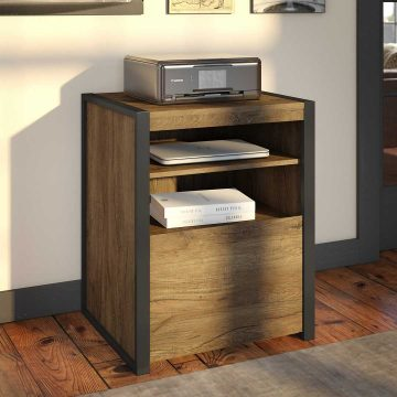 Printer Stand File Cabinet