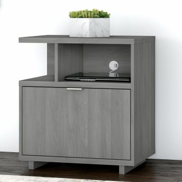 Lateral File Cabinet with Shelves