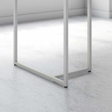 60W L Shaped Desk with 30W Return