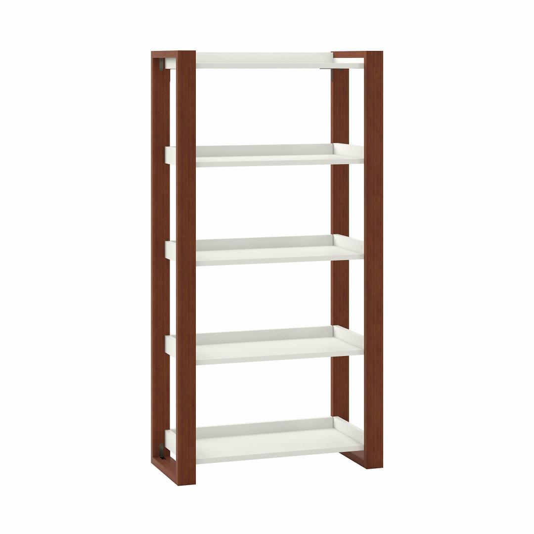 Scandinavian Style 5 Shelf Etagere Bookcase