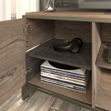 60W TV Stand with Console Table, Coffee Table and End Tables