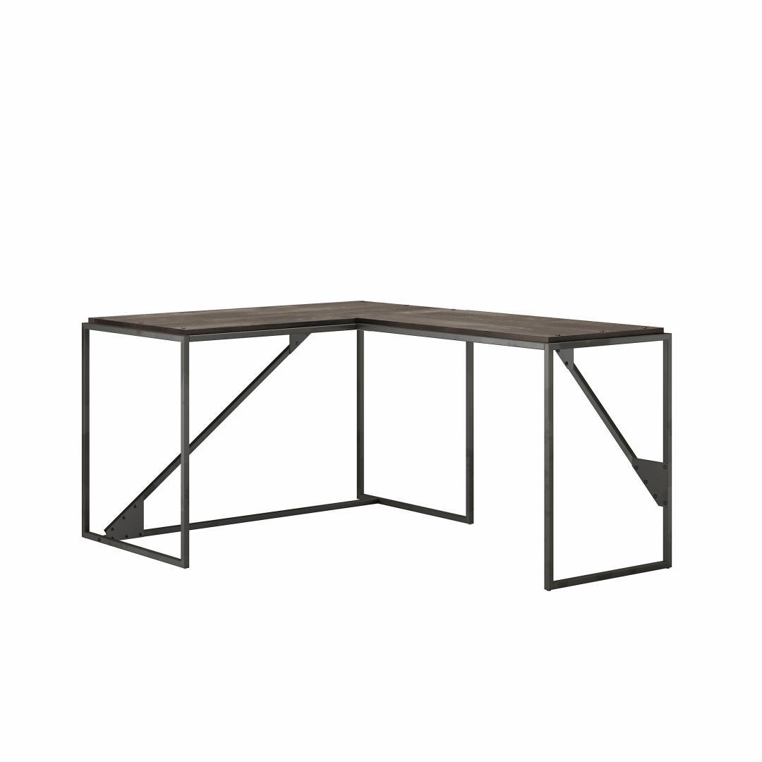 50W L Shaped Industrial Desk