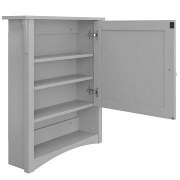 32W Bathroom Vanity Sink and Medicine Cabinet with Mirror