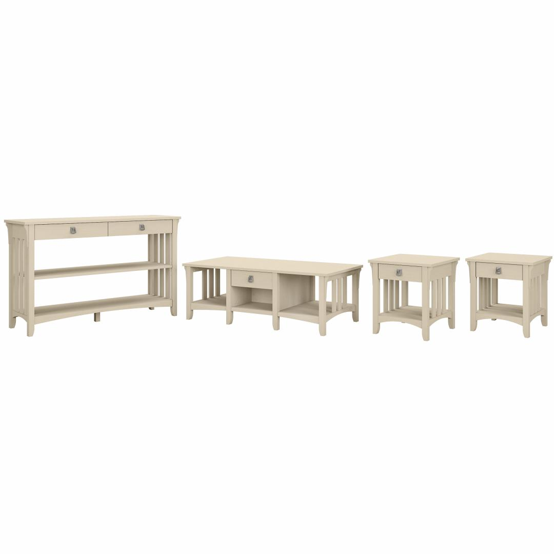 Coffee Table with Console Table and Set of 2 End Tables