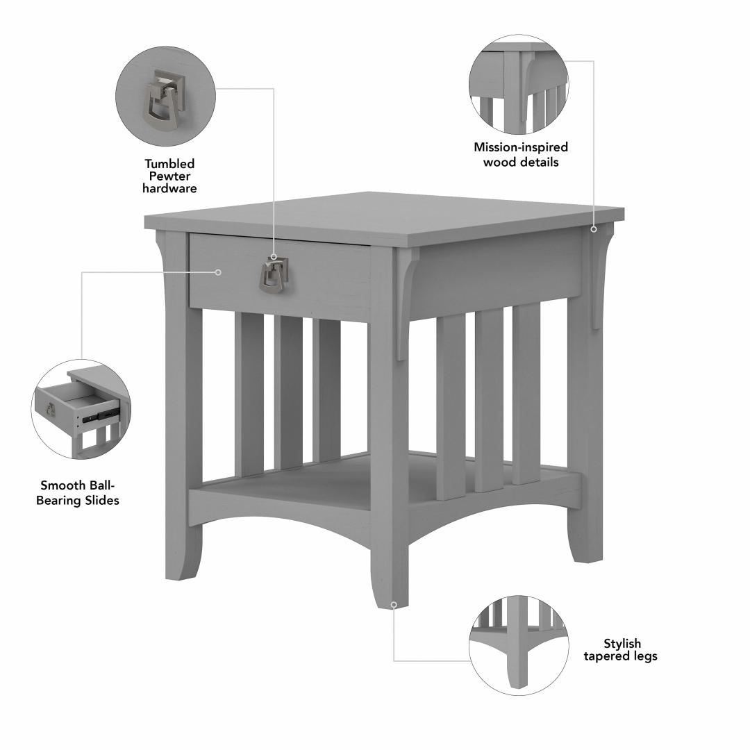 TV Stand with Coffee Table and Set of 2 End Tables