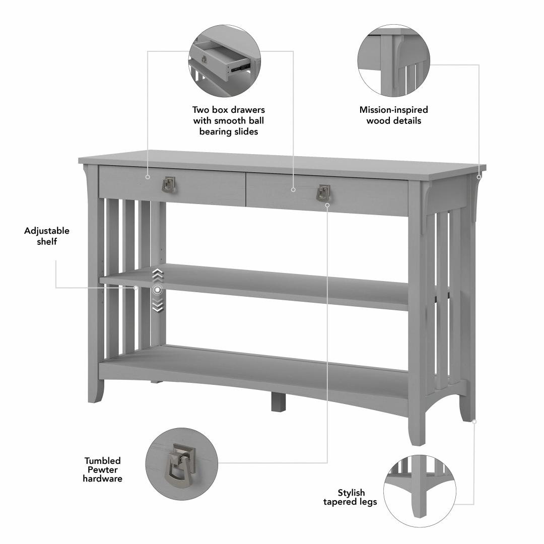 TV Stand with Coffee Table, Console Table and Set of 2 End Tables