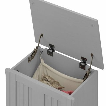 Laundry Hamper with Lid and Removeable Liner Bag