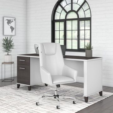 72W Office Desk and Chair Set