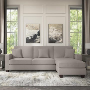 102W Sectional Couch with Reversible Chaise Lounge