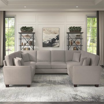113W U Shaped Sectional Couch
