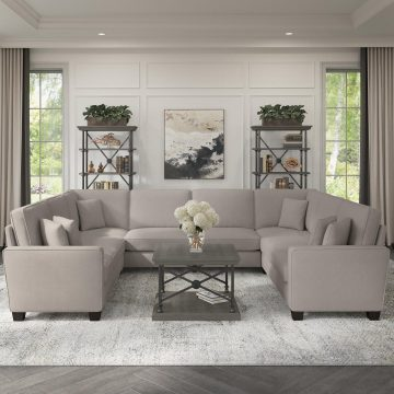 125W U Shaped Sectional Couch