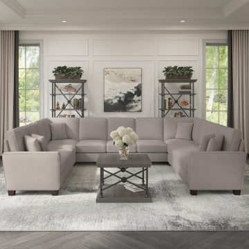 137W U Shaped Sectional Couch