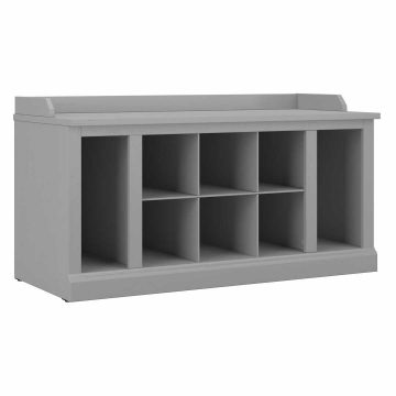 40W Shoe Storage Bench with Shelves