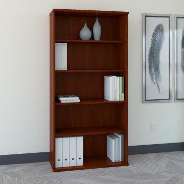 36W 5 Shelf Bookcase